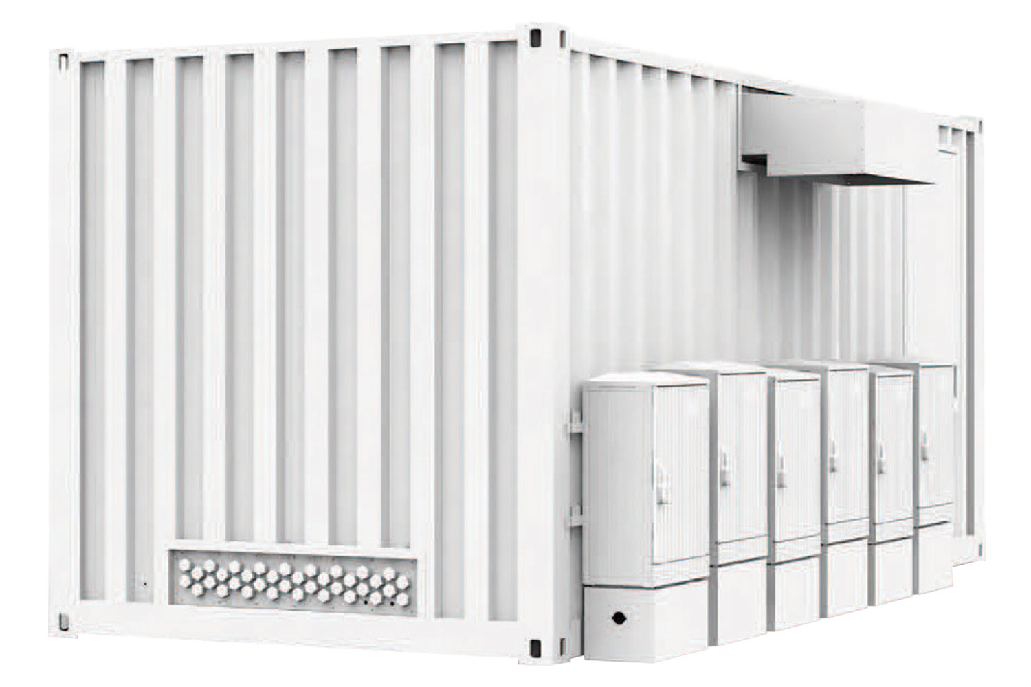 PVMASTER ISO-CONTAINER STATION